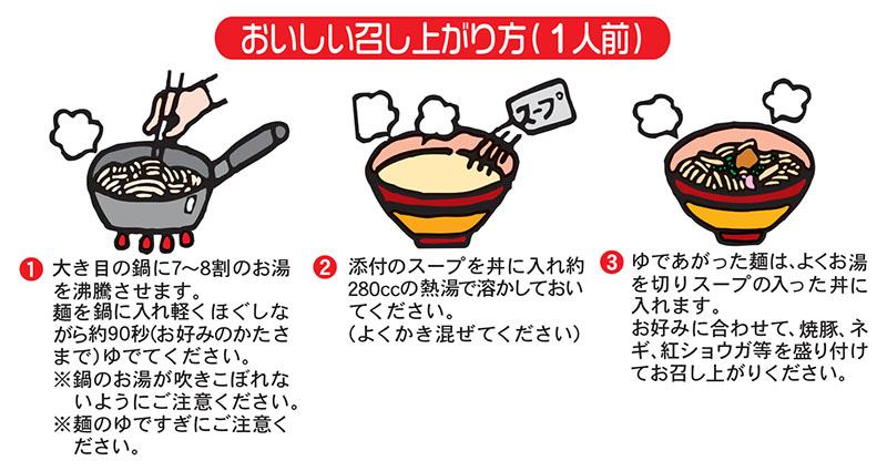 麺処小川屋の特製ラーメンの美味しい作り方