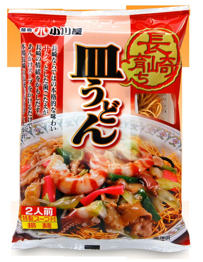 小川屋の長崎育ち皿うどん 特製スープ付き 2人前 揚麺